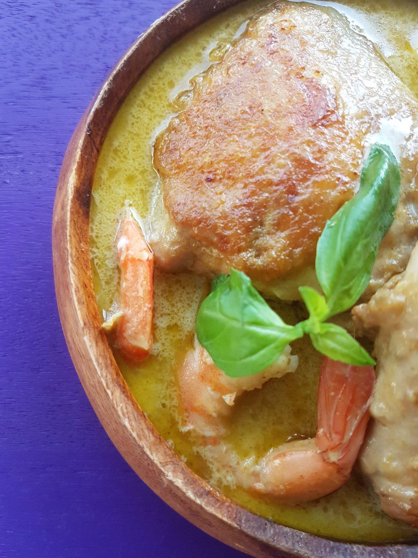 Délicieux Curry vert express